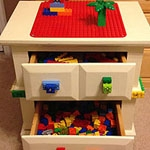 DIY Lego Duplo Bed Stand Lego Table