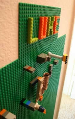DIY Lego Wall