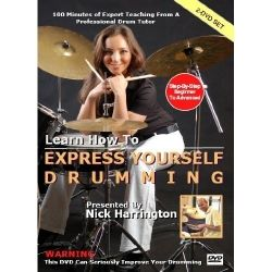 Drumming is about feeling alive and being creative. It's about letting off steam and having fun. It is also about being focused and gaining more confidence.