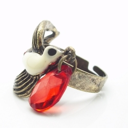 Love Letter Swallow Bird Ring