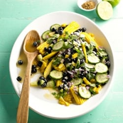 Blueberry and Corn Salad Recipe