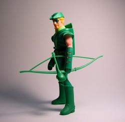 Retro Green Arrow Costume