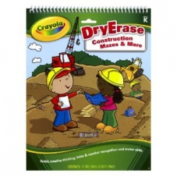 Construction Activity Books and Stickers