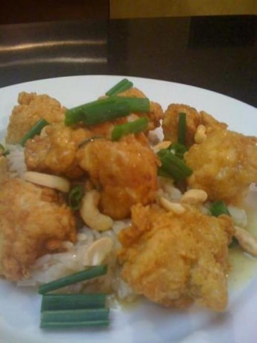springfield cashew chicken and rice
