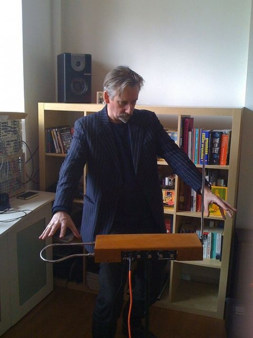 Playing the Theremin