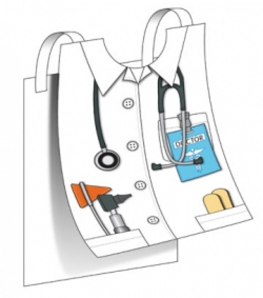 Kids Docter's Paper Vest Craft