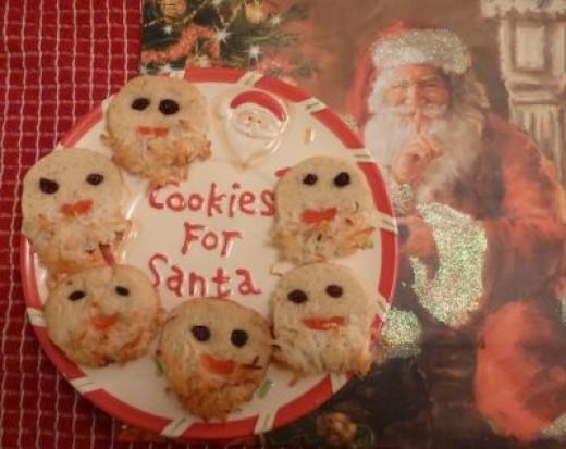 Ssssh - Santa might eat them all...