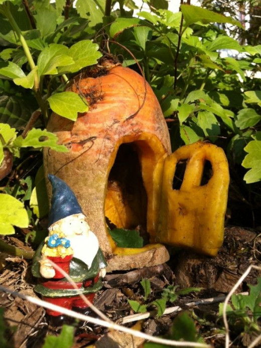 gnome house for halloween
