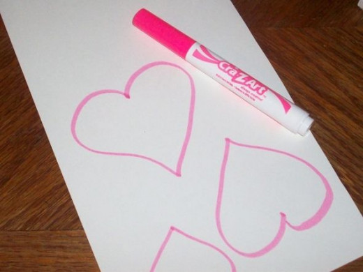 Draw Hearts for Valentines Day