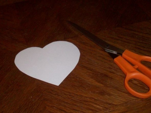 Tag for Valentines Day Craft