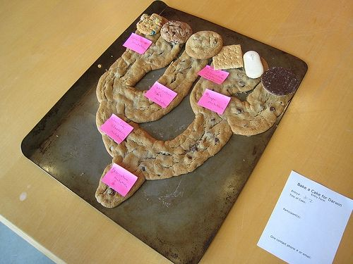 Phylogenetic tree of cookies http://www.flickr.com/photos/beatymuseum/5425585373/ the Beaty Biodiversity Museum