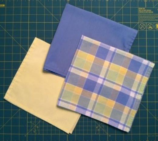 """Some of My """"Homemade"""" Cloth Napkins"""