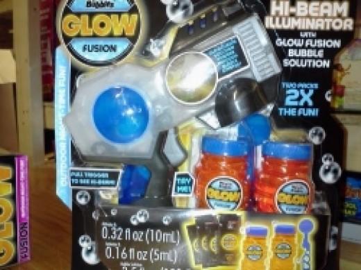 Glow in the Dark Bubble Gun For Kids