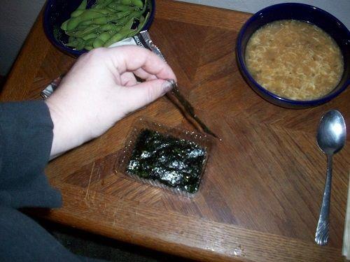 Roasted Seaweed Sheets or Nori