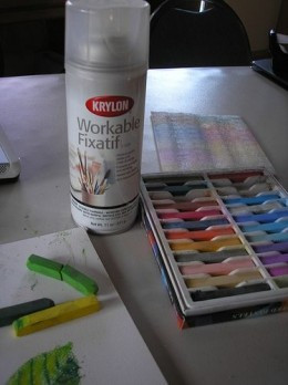 Chalk Pastels Lesson Plan with Drawing With Children