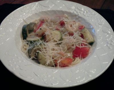 With More Veggies & Shredded Parmesean