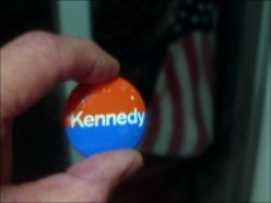 Presidential Elections - the Vote and Campaign Buttons