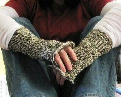 Knitting Loom Gloves