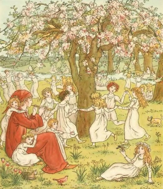 Kate Greenaway: The Pied Piper of Hamelin