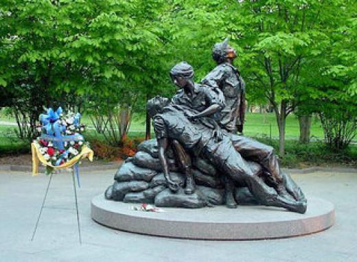 Vietnam Women's Memorial - National Mall, Washington DC