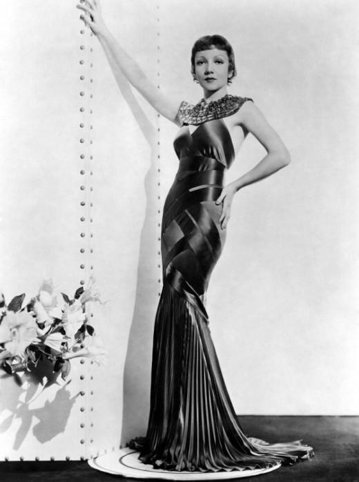Claudtte Colbert 1934