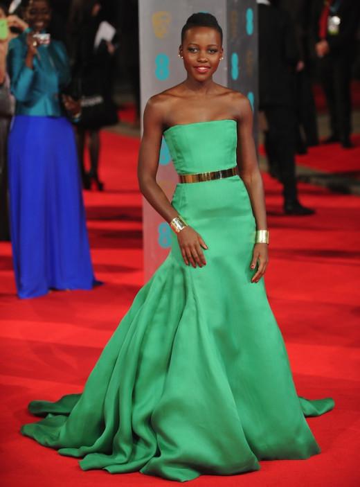 Lupita Nyong'o 2014 BAFTAS
