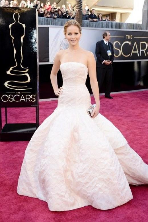 Jennifer Lawrence 2013 Oscars