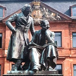 Grimm National Monument in Hanau