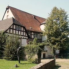The family house where eight brothers and one sister Grimm were born