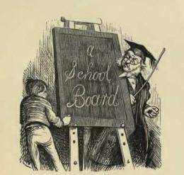 Caldecott's first sketch in legendary Punch