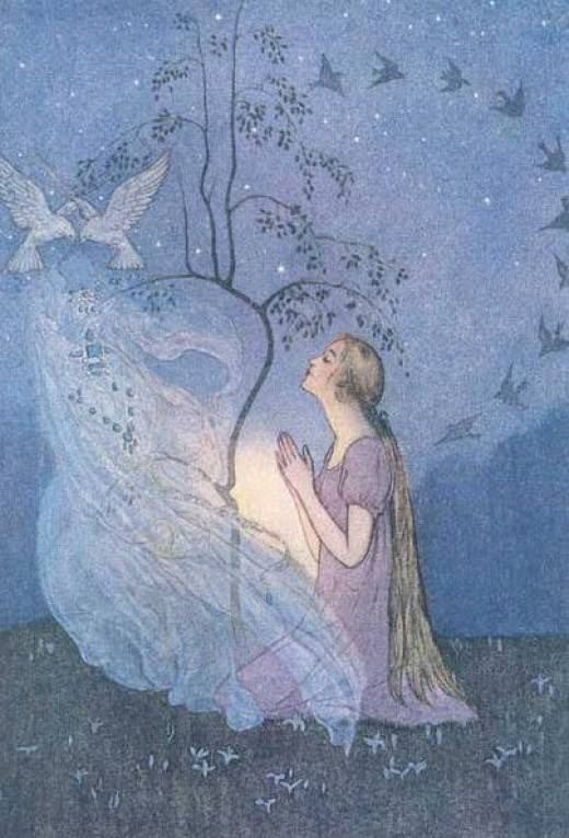 Grimms' version of Cinderella illustrated by Elenore Abbott