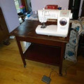 Multipurpose Tea Trolley for Sewing Table