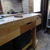 How to fit a drawer to a workbench