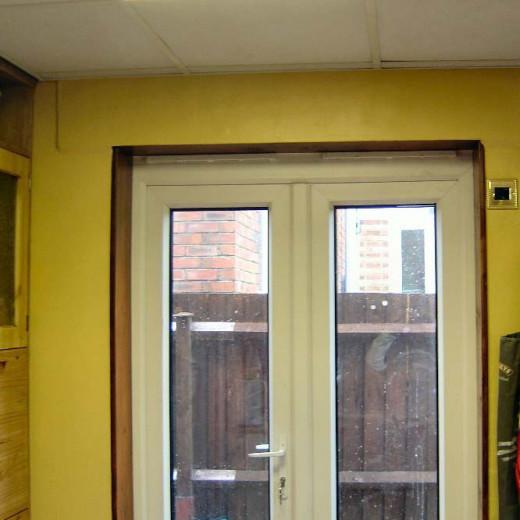 New Kitchen Door completed