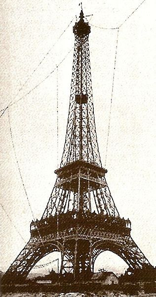 Antenne tour Eiffel 1904