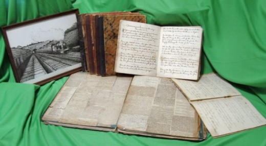 Diary and Scrapbook of George Burgess