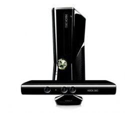Xbox 360 Slim with Kinect Courtesy of Giorgio97 Wikimedia Commons