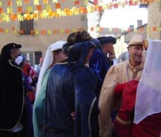 Rochechouart Medieval Festival - held every year in August