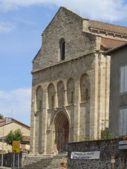 Saint-Eutrope in the village of Les Salles Lavauguyon, Limousin, France
