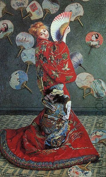 la Japonaise by Claude Monet Date 1876