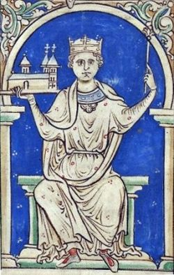 King Stephen of England.