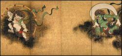 Wind and Thunder Gods by Sotatsu