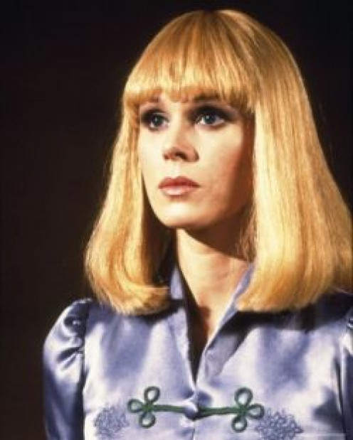 Joanna Lumley in Sapphire and Steel