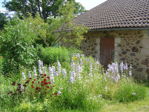 Gardens at Les Trois Chenes Videix, Limousin France
