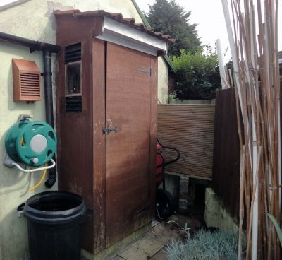 Making Compost Bins with Decking