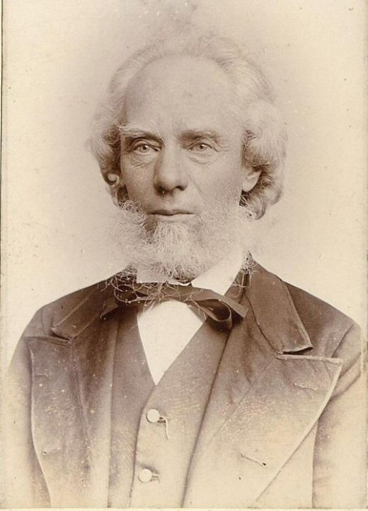 George Burgess 1829-1905.  Phrenologist and prolific writer.
