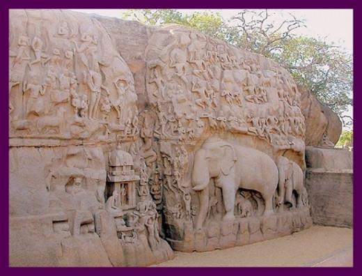Stone Carivings @ Mahabalipuram