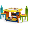 Kids Wooden Art Table  With Storage - A Table That Will Last Through All The Kids
