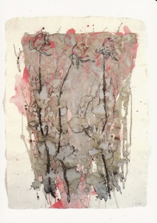 Roses in Silver by Barbara Walton