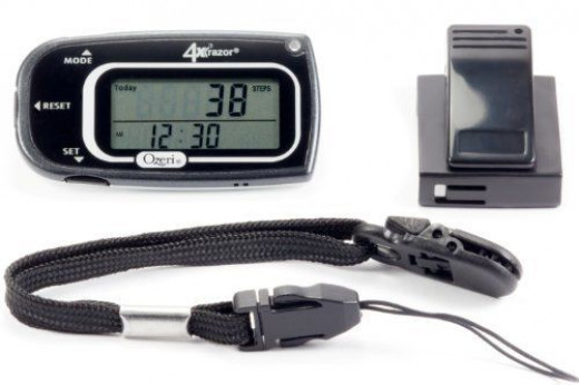 Pedometers are useful gadgets for active women.